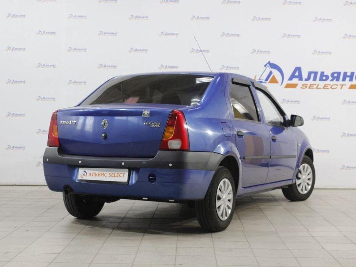Купить б/у Renault Logan, 2009 год, 75 л.с. в России